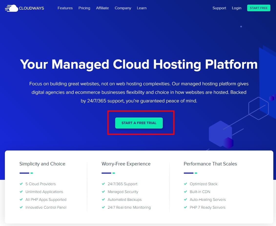 【WordPress主機推薦】5個步驟教你使用 Cloudways 快速架設 WordPress網站教學