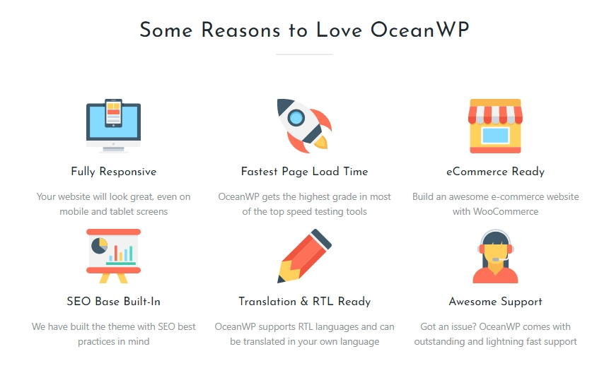 oceanwp佈景主題教學03