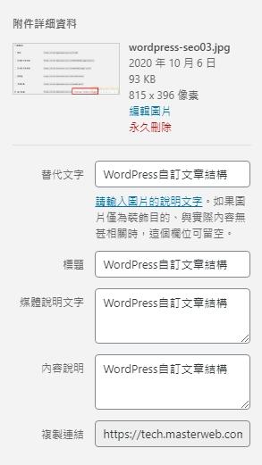 wordpress圖片說明